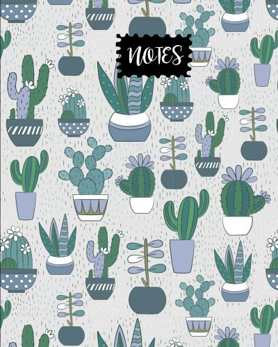 Notes: Cactus Journal, size 8