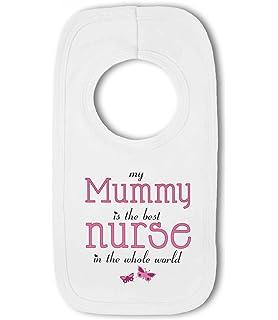 Auntie Baby Bib My Mummy Cousin is the Best Nurse in the World