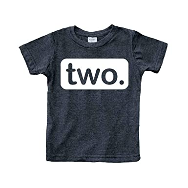 Unordinary Toddler 2nd Birthday Shirt 2y Charcoal Black