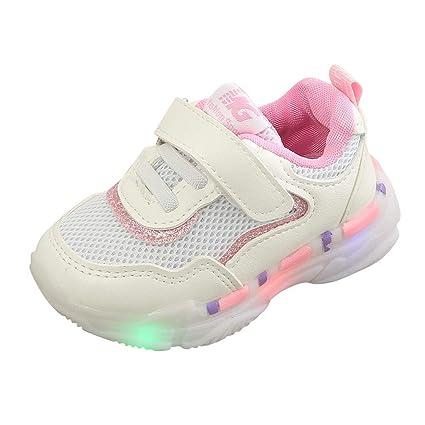 c02087904a62c Amazon.com: Toponly LED Luminous Sneaker Mesh Breathable Athletic ...