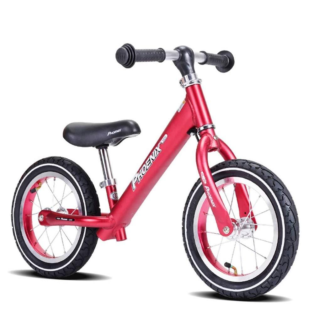 Hejok Laufrad Rot, Laufrad Laufrad FüR 2,3,4,5,6 JäHrige, Rotes Laufrad Lernrad FüR Jungen Und MäDchen rot