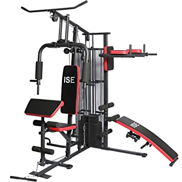 Souvent ISE Station de musculation Banc de musculation Multifonction avec  IR38