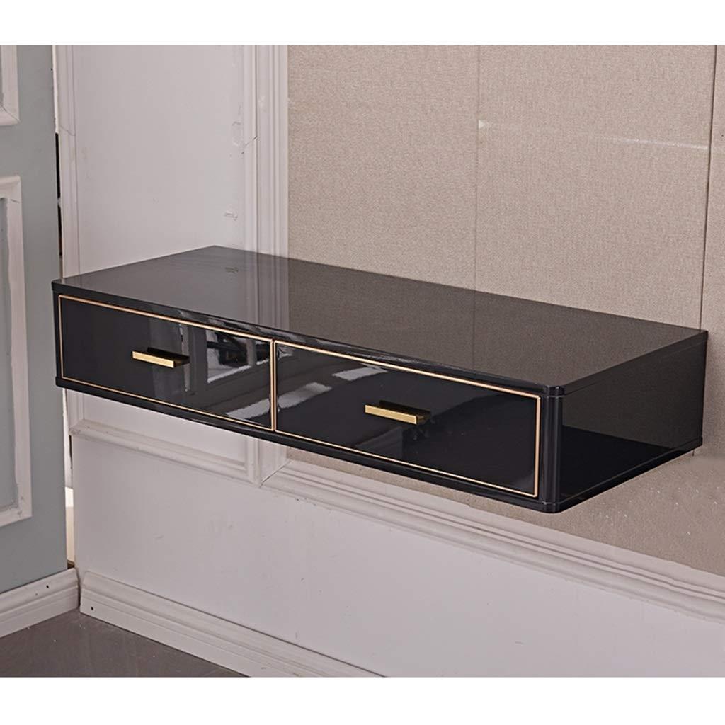 Moderner schwimmender Waschtisch Wandregal mit Schubladen Schminktisch Schminktisch für Frauen Mädchen Schlafzimmer Kommode Schreibtisch Schlafzimmerwand Nachttisch Laptop-Tisch Schreibtisch