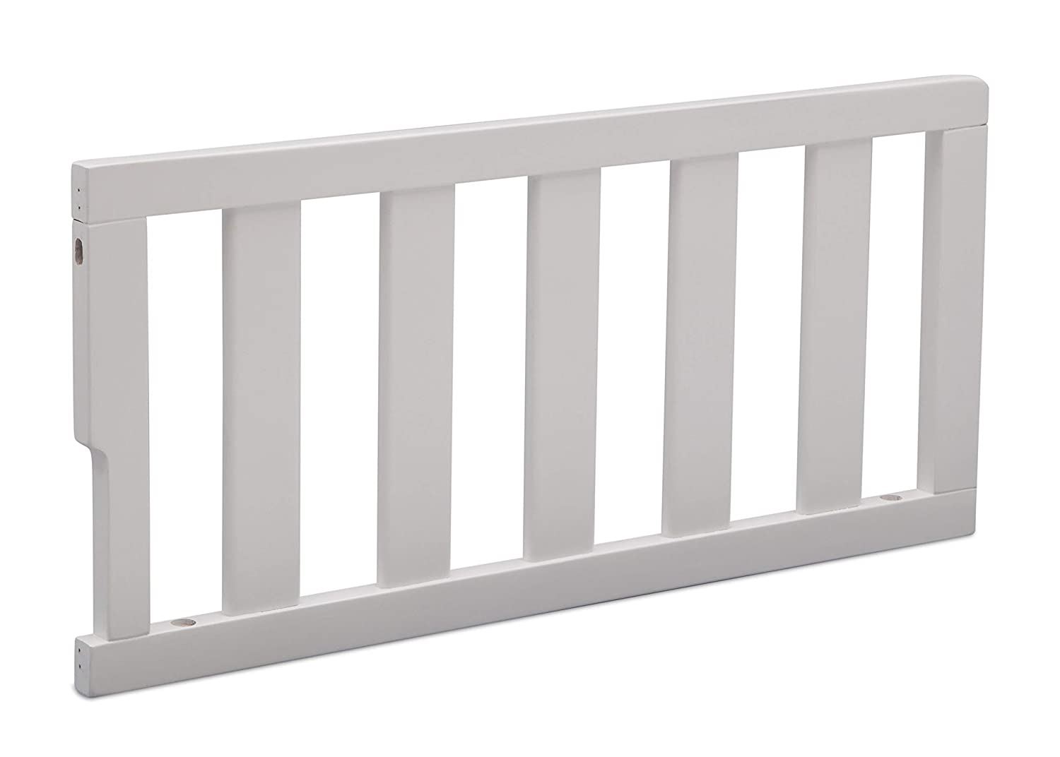 Delta Children Bennington Elite Toddler Guardrail 550725, Bianca White