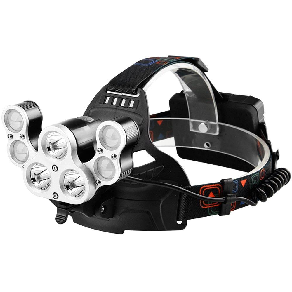 GLJJQMY Wasserdichte LED-Scheinwerfer super helle Wasserdichte GLJJQMY leuchtende Suchscheinwerfer Taschenlampe 96673e