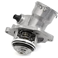 uxcell New Black Thermostat Housing w Sensor 2722000115 for Mercedes-Benz C300 C350 SLK350 E350 R350 CLK350
