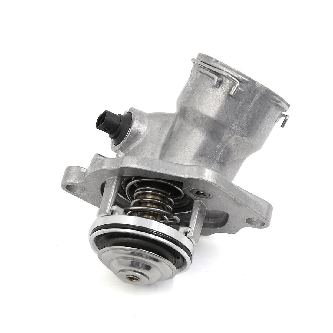 uxcell/® New Black Thermostat Housing w Sensor 2722000115 for Mercedes-Benz C300 C350 SLK350 E350 R350 CLK350
