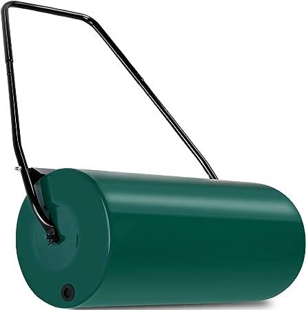 Rasenwalze  Handwalze Gartenwalze Ackerwalze Rasenroller Walze Metall 60 cm
