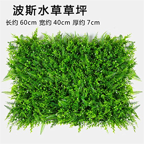 Windse Plant Wall Artificial Lawn Boxwood Hedge Garden Backyard Home Decor Simulation Grass Turf Rug Lawn Outdoor Flower Wall bosishuicao