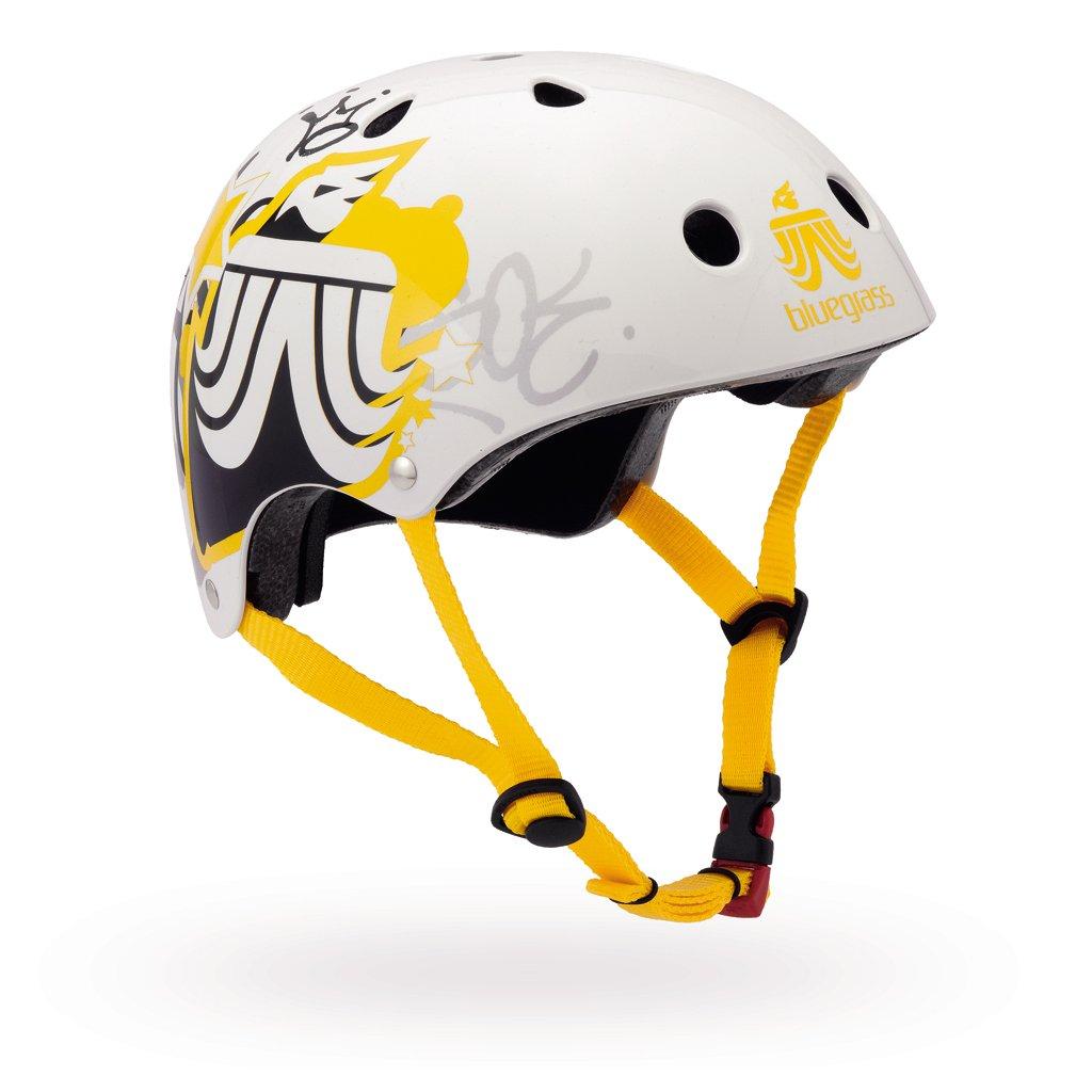 bluegrass BMX Helm Bold Crown Yellow Gr/ö/ße: 54-61 cm