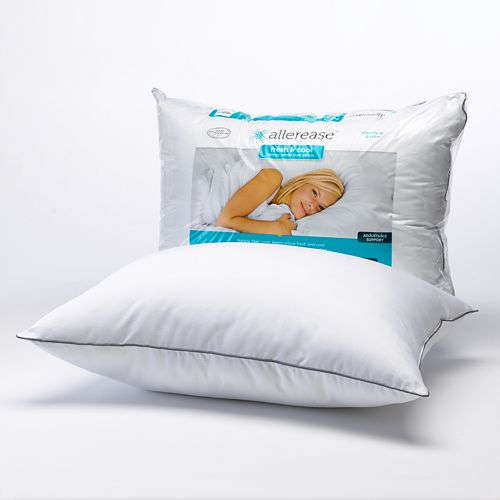 Allerease Fresh and Cool Allergy Protection Pillow - Standard / Queen