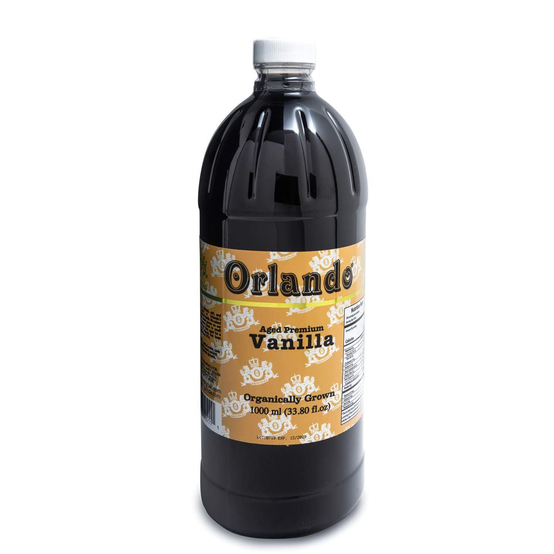 Aged Premium Vanilla Organically Grown (33.80 fl oz) by Orlando