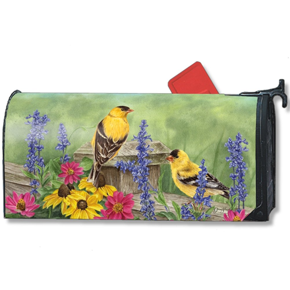 Magnet Works Golden Finches Large Mailwrap #21332 PartialUpdate