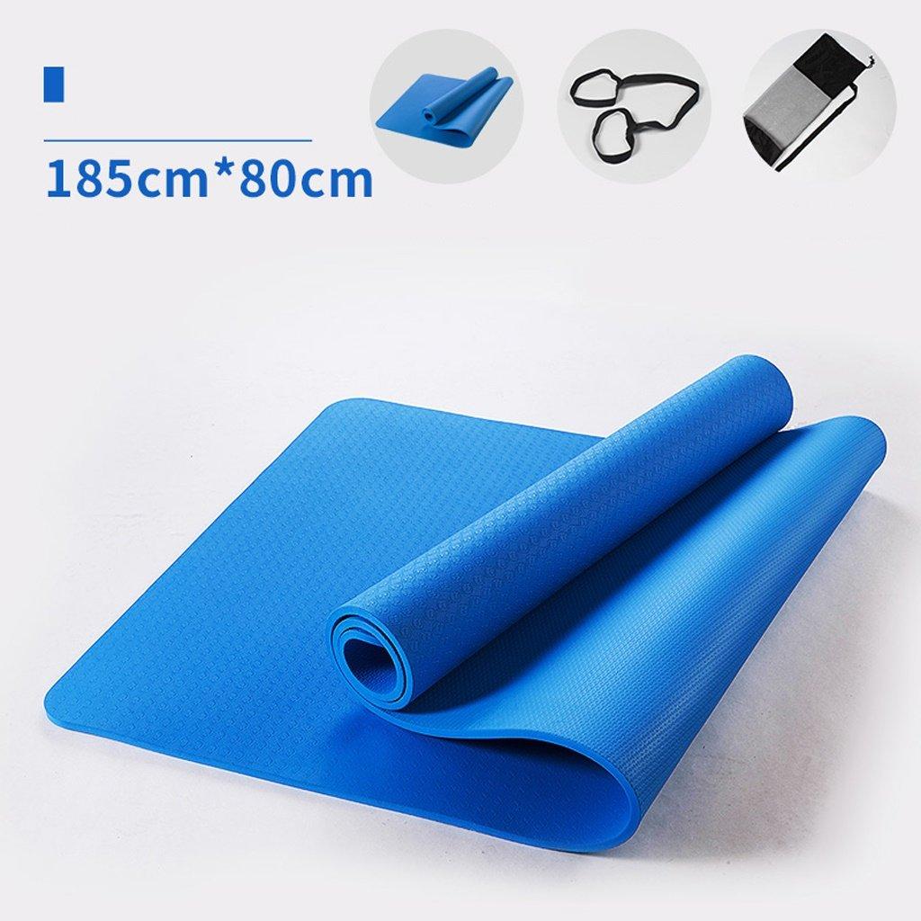Yoga-Matte, 185cmX80cmX10mm Yoga-Matte, Verlängerung Erweiterung Fitness Mat, Fitness Mat Yoga Mat