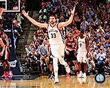 Marc Gasol Memphis Grizzlies 2015 NBA Playoff Action Photo (Size: 8' x 10')