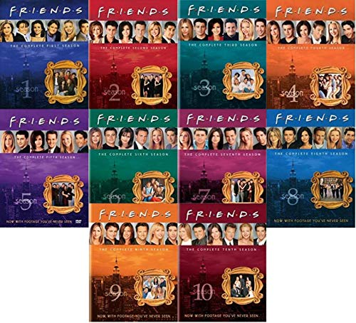 Friends: The Complete Series Collection - Seasons 1,2,3,4,5,6,7,8,9 & 10 DVD (Friends Dvd Season 1)