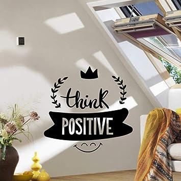 Olivialulu Think Positive Smile Patrón Encantador Pegatinas De ...