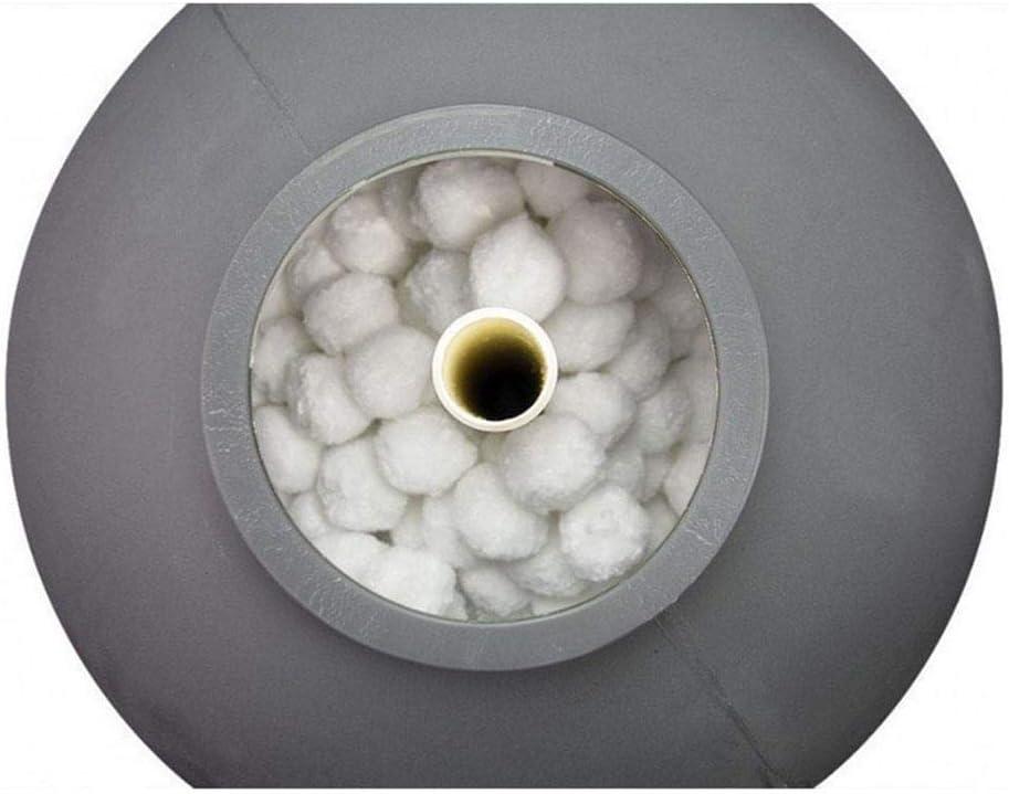 Boule De Fibre De Nettoyage De Piscine Vitesse Rapide Et R/éutilisable Outil De Nettoyage De Piscine D/édi/é VERLOCO Boule Filtrante pour Piscine 700g Haute R/ésistance /À La Filtration