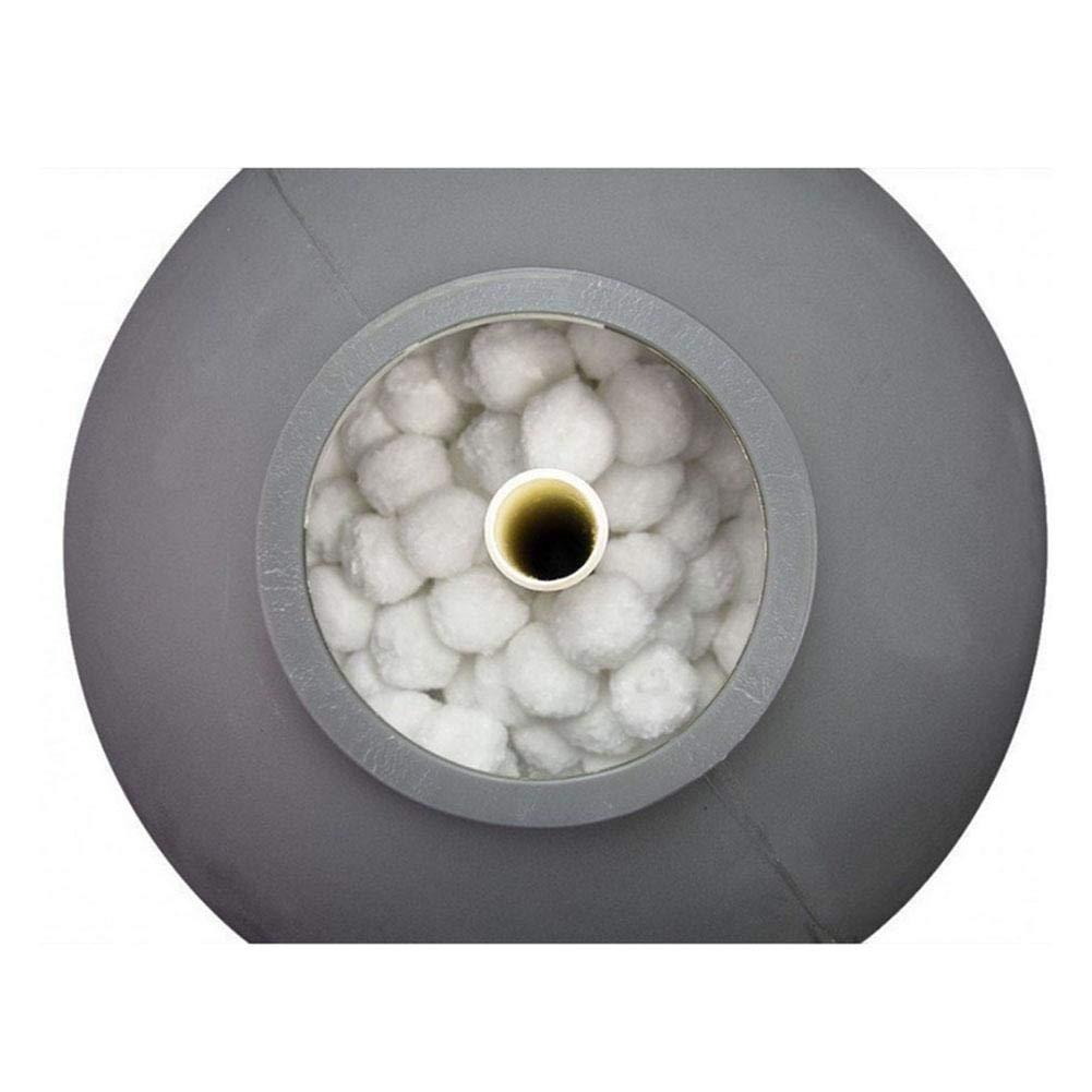 AILHL Sfera Filtrante per Piscina Speciale Sfera Filtrante in Fibra per La Pulizia della Piscina
