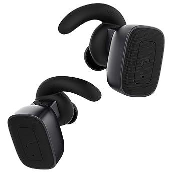 Auriculares inalámbricos para correr, TechCode TWS Bluetooth 4.1 Auriculares resistentes al sudor Gemelos Verdadero inalámbrico