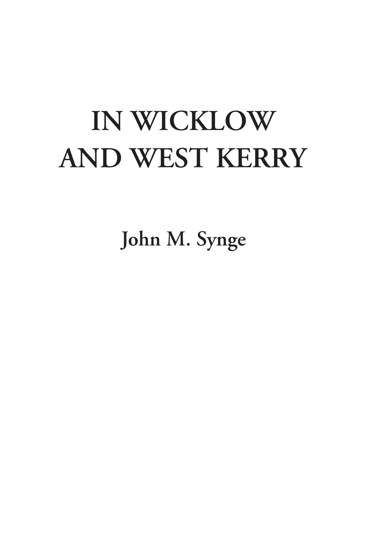 Download In Wicklow and West Kerry PDF