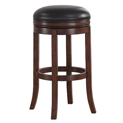 amazon com greyson living shelby swivel counter stool seat height
