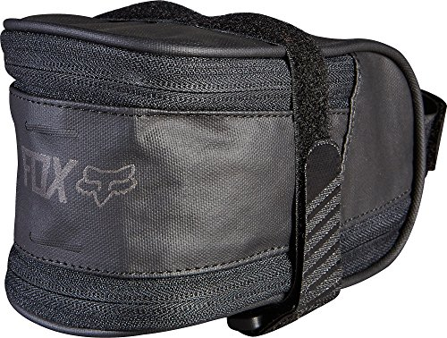 (Fox Racing Large Seat Bag Black, One Size)
