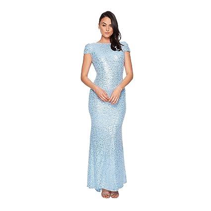 U-shaped Back Prom Dress