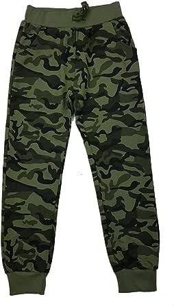 Fashion Boy J6092e - Pantalones de camuflaje para niño
