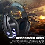 PS4 Gaming Headset with Mic for PC, Xbox One
