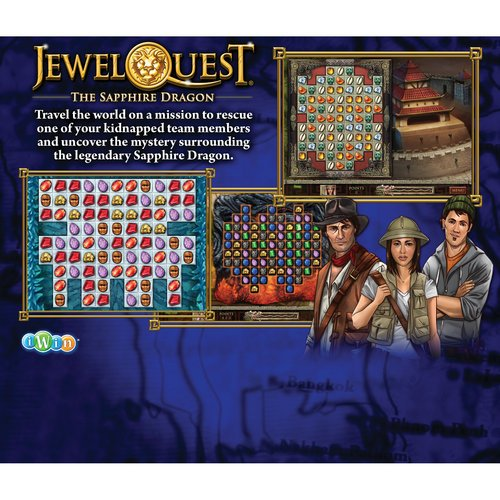 Jewel Quest 2 Game Pack the Sapphire Dragon + the Oracle of Ur (Pc Video Game) (Pc Games Jewel Quest Solitaire)