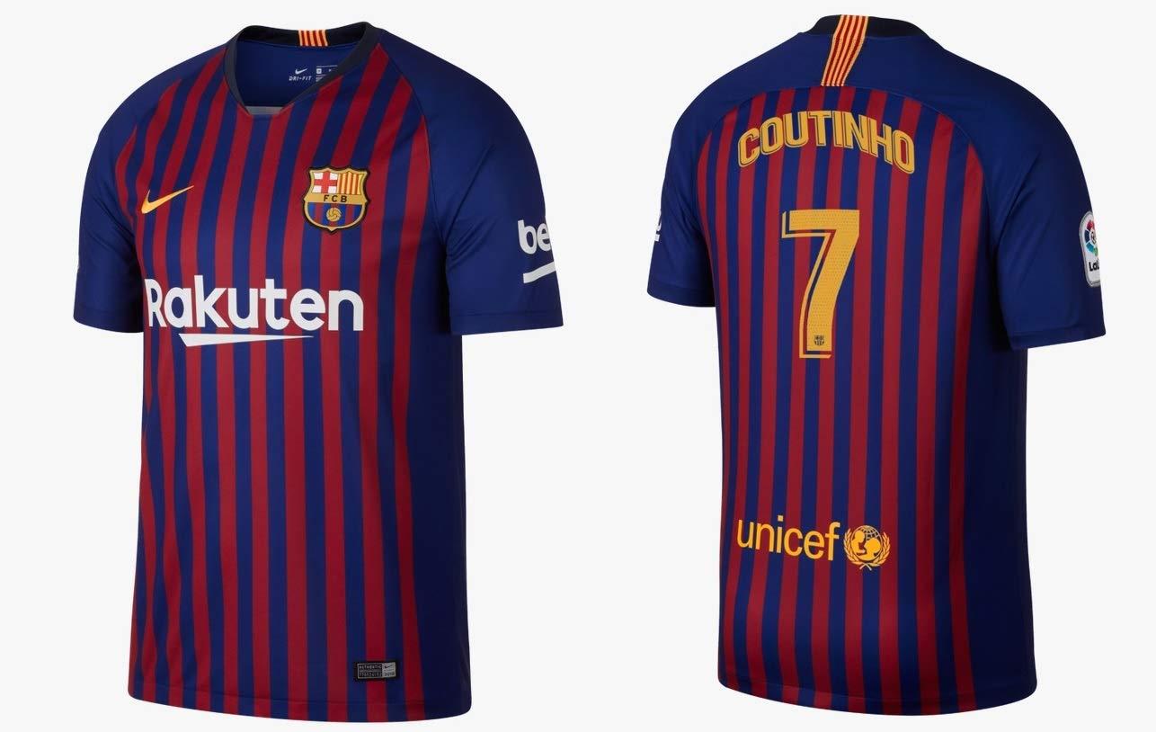 F.C. Barcelona Trikot Kinder 2018-2019 Home - Coutinho 7