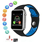 Smart Watch for Android, HongTu Waterproof Smart Watches with Pedometer, Bluetooth Smartwatch Compatible Android