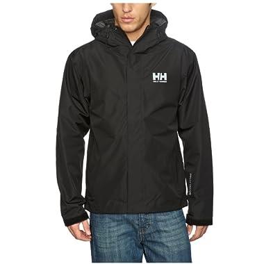 Helly Hansen Men's Seven J Waterproof, Windproof, and Breathable Rain Jacket with Hood