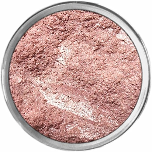 Ombre Rose Loose Powder Mineral Shimmer Multi Use Eyes Face Color Makeup Bare Earth Pigment Minerals Make Up Cosmetics By MAD Minerals Cruelty Free - 10 Gram Sized Sifter Jar