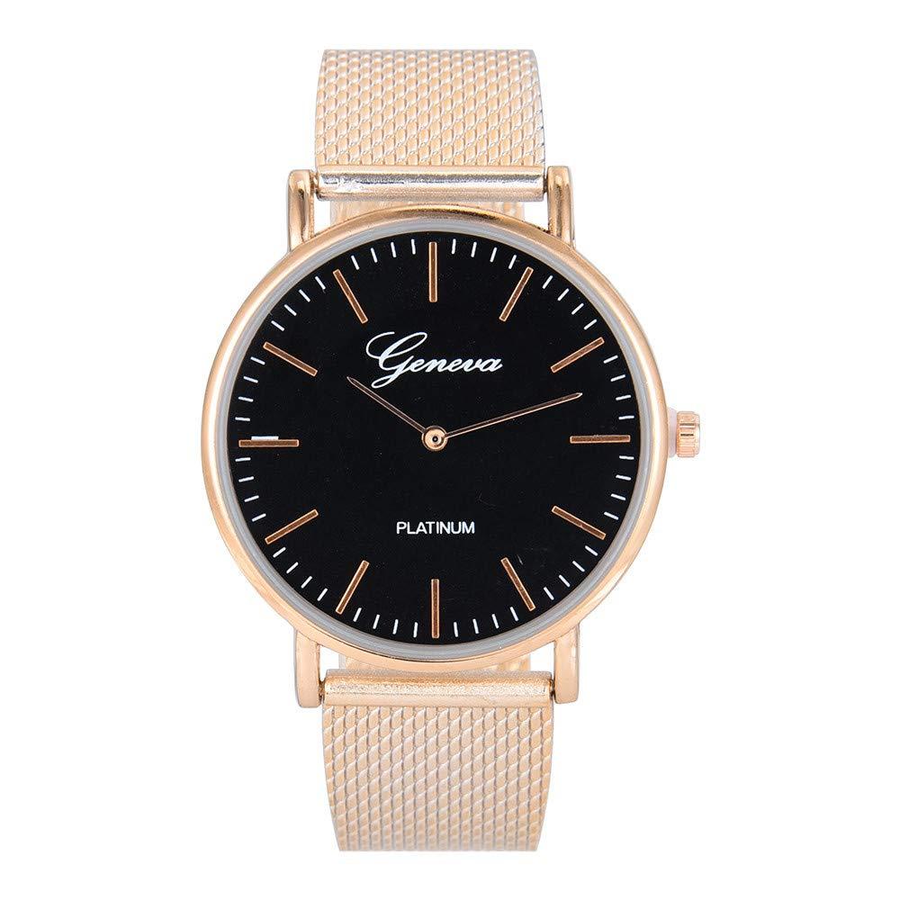 Men Luxury Stainless Steel Quartz Military Sport Plastic Band Dial Wrist Watch