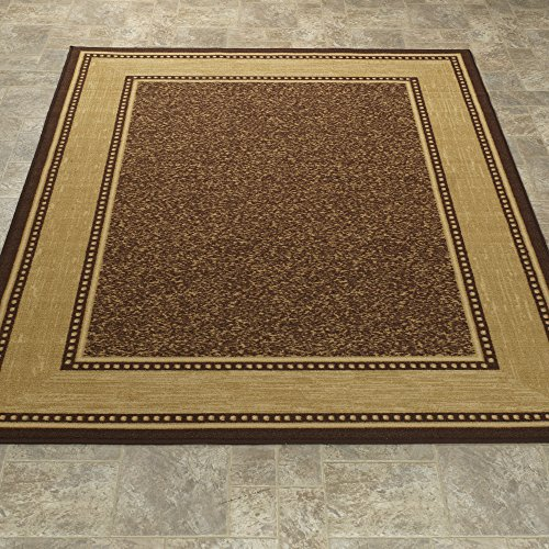 Ottomanson Ottohome Collection Contemporary Chocolate product image