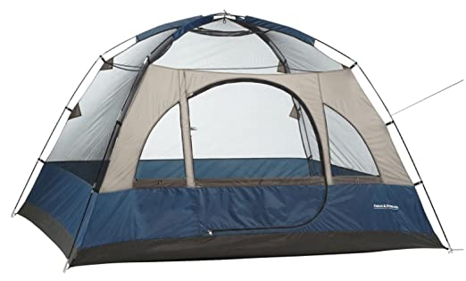 Amazon.com  4 Person Tent Wilderness Lodge - Dome Style Vestibule For Added Element Protection  Sports u0026 Outdoors  sc 1 st  Amazon.com & Amazon.com : 4 Person Tent Wilderness Lodge - Dome Style Vestibule ...