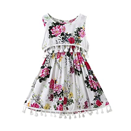 e2d05a4f7 Amazon.com  Clearance Toddler Baby Girls Kids Party Princess Dress ...