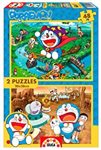 Educa Borrás 15399 - 2X48 Doraemon