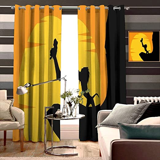 Home & Garden 2pc BABY BEDROOM CURTAINS CHILDREN ROOM MULTI COLOUR ...