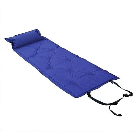 Colchoneta autohinchable para acampada y aire colchón con ...