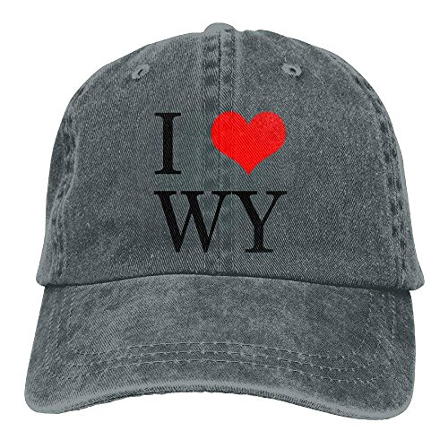 I Women Wyoming Love Sport Hat Hats Skull Cowgirl for Men Cap Denim Cowboy dq7xRE