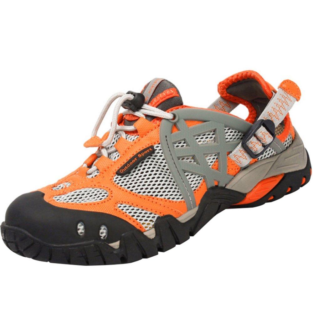 Orange Neutre Escalade Sandales Chaussures De Randonnée Sports De Plein Air Chaussures Amphibies Légères Chaussures De Séchage Rapide 37EU