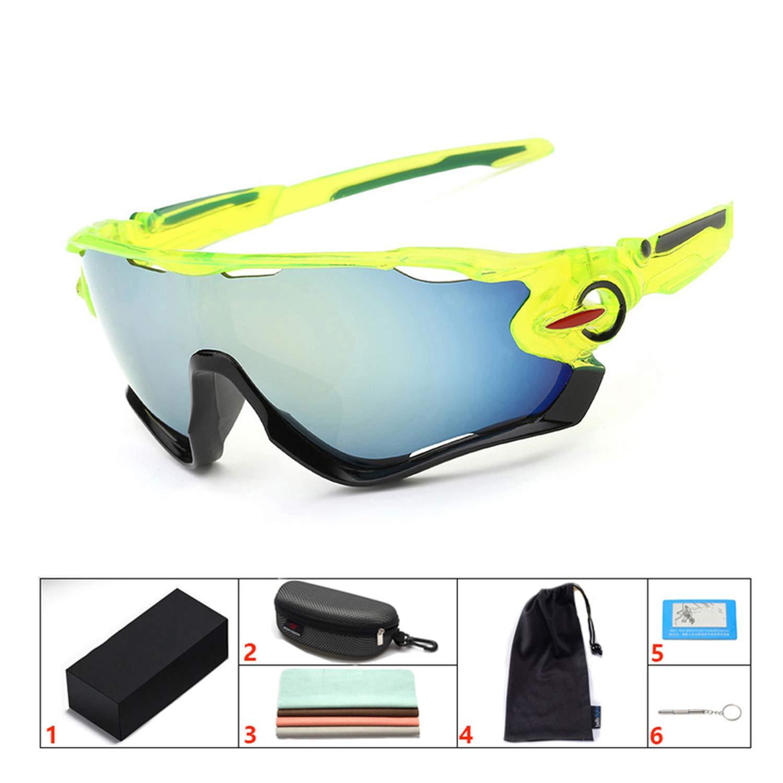 Amazon.com: GYDR5D4 Gafas de Ciclismo UV400 Lente Ciclismo ...