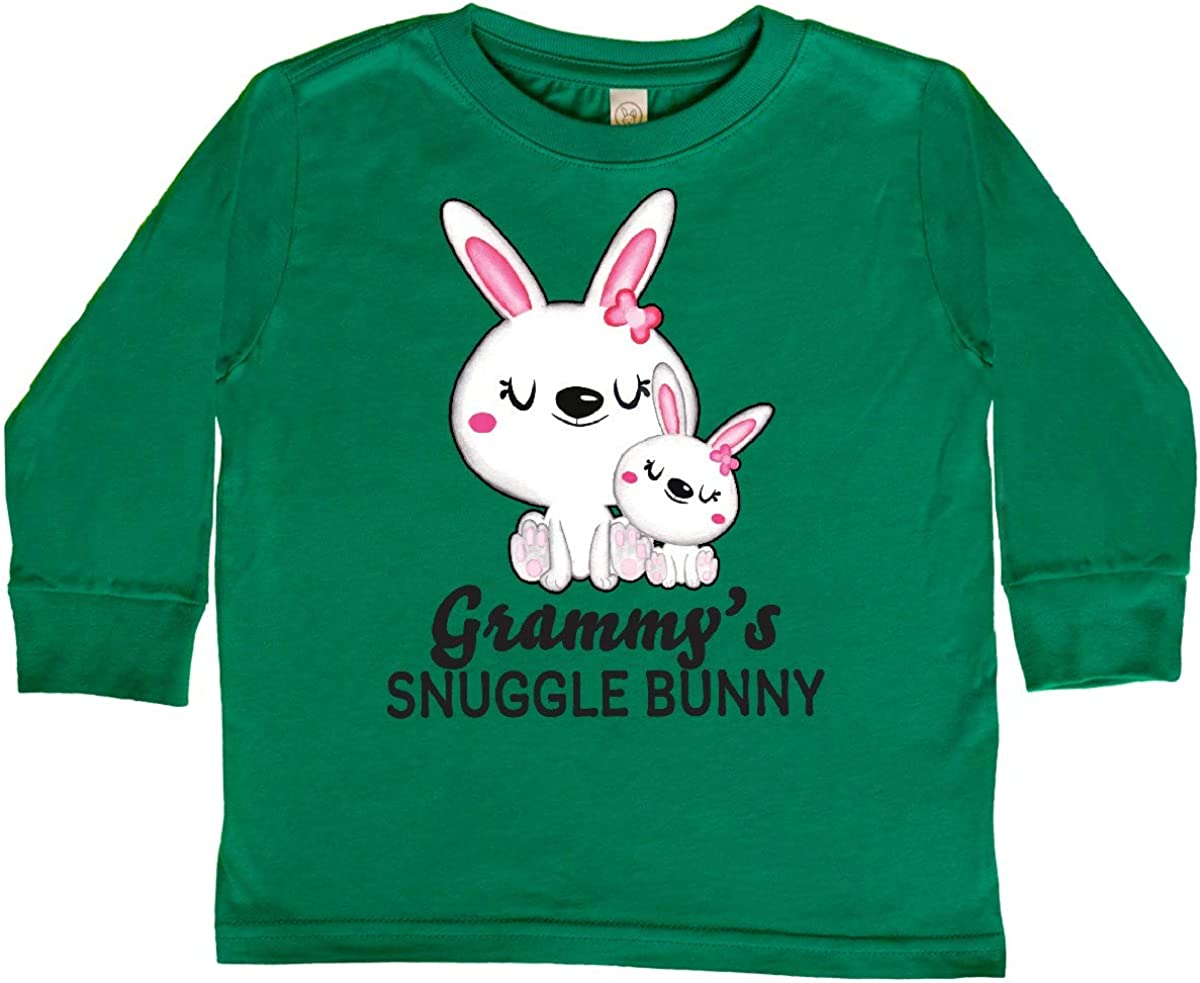 inktastic Grammys Snuggle Bunny Easter Toddler Long Sleeve T-Shirt