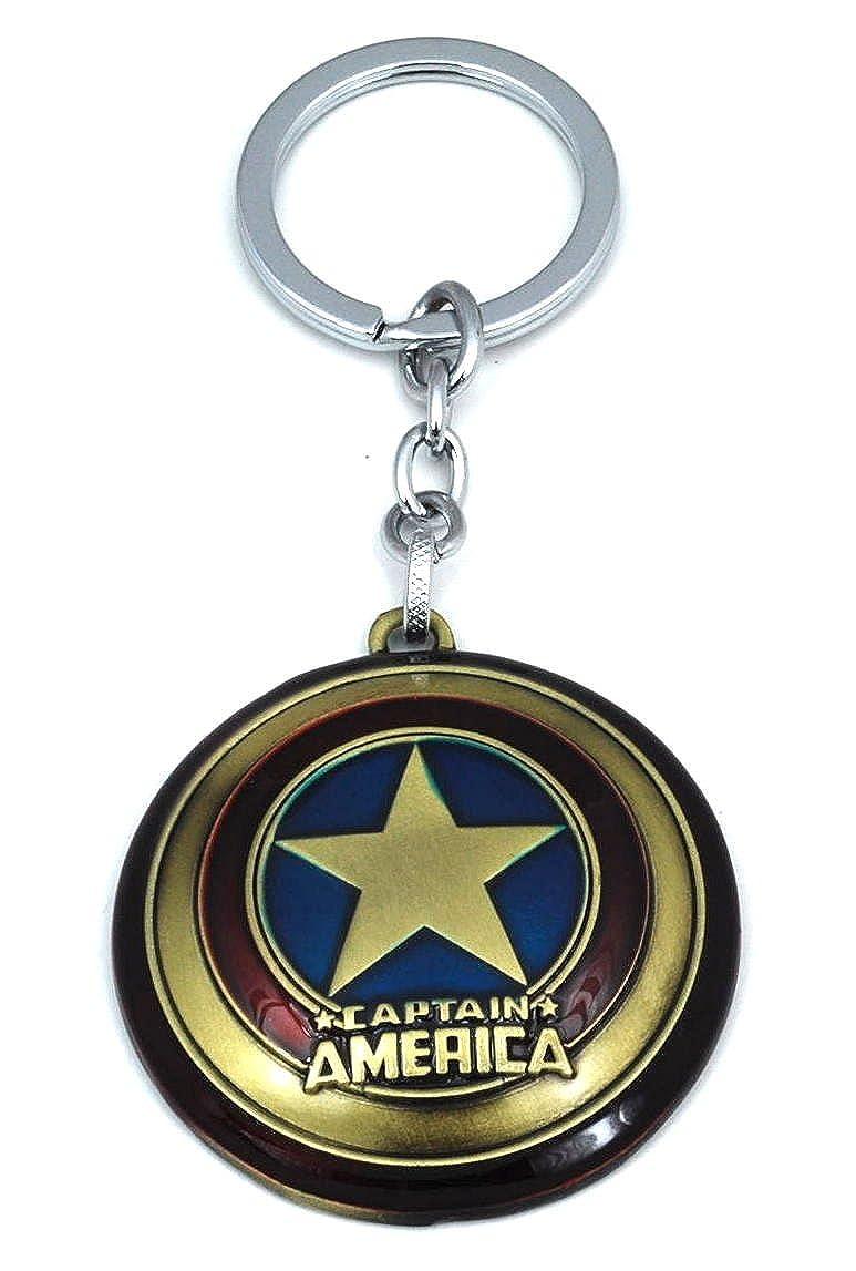 Llavero Escudo Capitan America: Amazon.es: Joyería