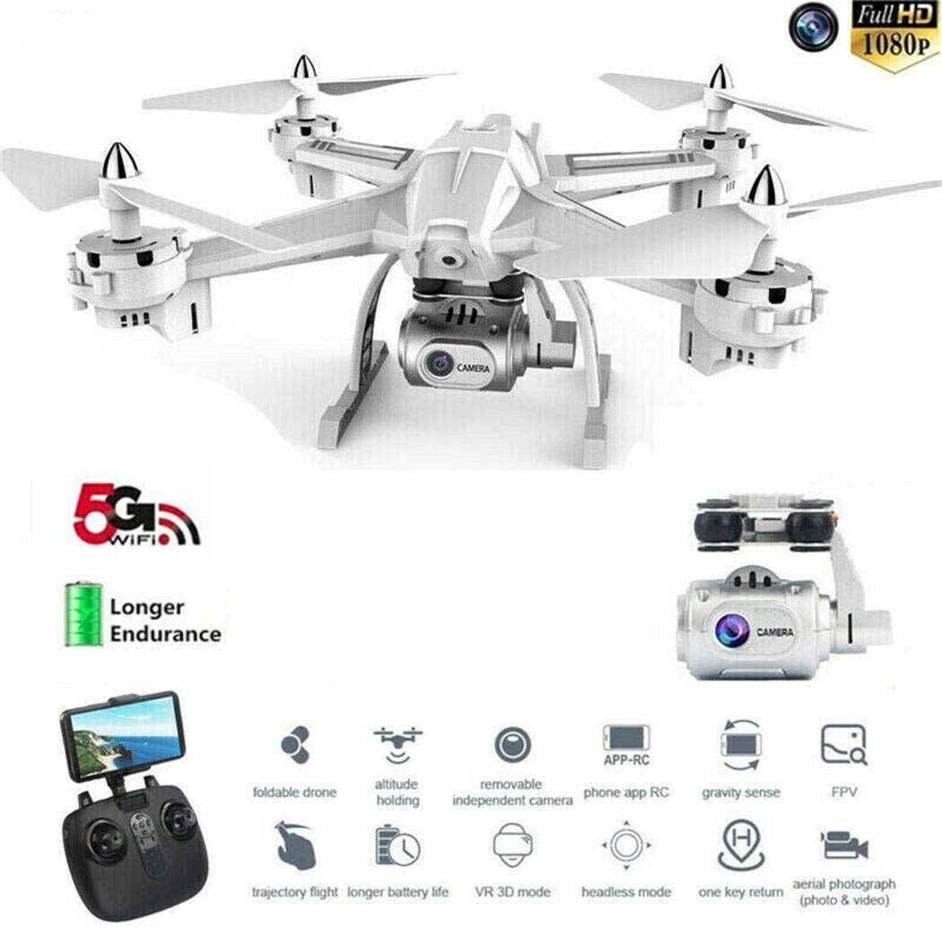 Detailorpin Professional High Definition Remote Control Aircraft Toys Four-Axis Drone by Detailorpin