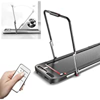 Treadmills Household Small Folding Walking Machine Indoor Fitness Equipment Ultra-quiet Stroller Load-bearing 150 Kg With Handrails office treadmill lxhff