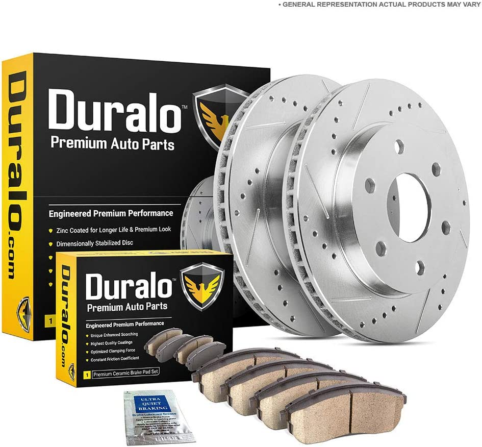 Rear Rotors Ceramic Pads For Chevy Suburban Silverado Escalade Sierra Yukon